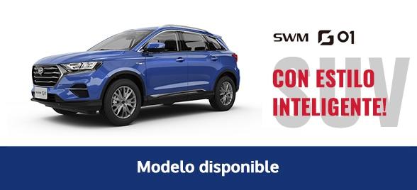 Disponibilidad modelo SWM G01