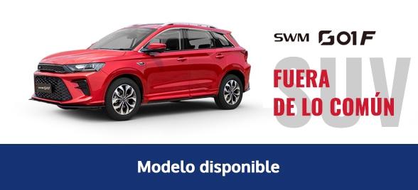 Disponibilidad modelo SWM G01F